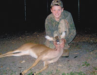 Jacob Bowen Bags First Deer!