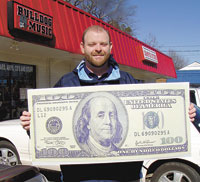 Trey Albright is our Super Bowl Contest $100 Winner!