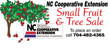 NC COOPERATIVE EXTENSTION SMALL PLANT & TREE SALE...