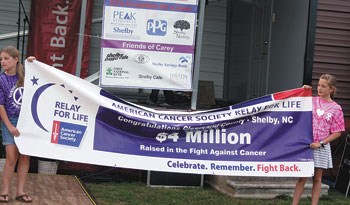 RELAY FOR LIFE HAS RAISED $4 MILLION SINCE INCEPTION