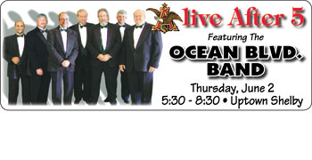 OCEAN BOULEVARD PLAYS SEASON'S FIRST ALIVE AFTER 5