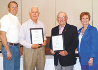 Kiwanis Club Presents  Volunteer Of The Year Award