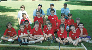 Cub Scout Summer Camp Invades Shelby High