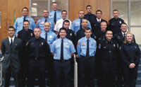 CCC Firefighter Academy Graduation
