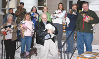 AWA Holds Annual Blessing Of The Animals