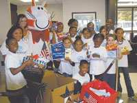 Boys & Girls Club Help To Support Our Troops