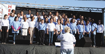 Shelby Intermediate Chorus Performs At The Art Of Sound