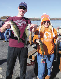 1st Annual GWU Fishing Club Tournament on Moss Lake