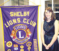 Lions Club Recognizes Mallory Green Student Of Month