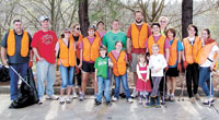 Keep Shelby Beautiful Volunteers Pick Up Half-Ton Of Litter & Recyclables