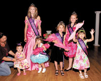 2012 Little Miss Merry Go Round Pageant Winners