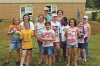 "James Love School Students Build ""Learning Courtyard"""