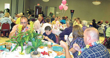 PARADE OF TABLES COMING TO SENIOR CENTER