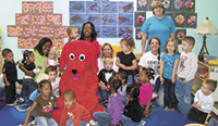 Happy Birthday Party For Clifford The Big Red Dog!