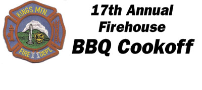 17TH ANNUAL FIREHOUSE BBQ COOKOFF!