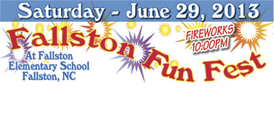 SEE YOU AT THE FALLSTON FUN FEST!