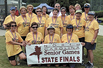 Golden Girls Win First Place