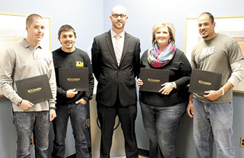 Continuing Education Students Receive SECU Scholarships