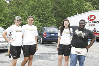 Shelby High Girls Softball Fundraiser Held