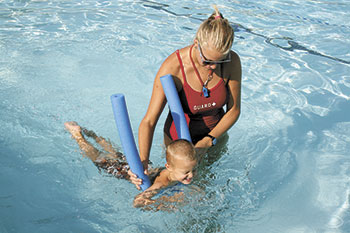 Swimming Lessons at Shelby City Park