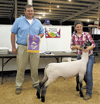 Lamb handlers earn top honors at Cleveland County Fair