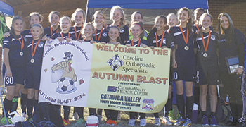 Lady Cobras win Autumn Blast 2014