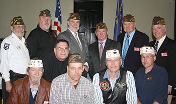 Shelby VFW Post 4066 honored with District Meeting