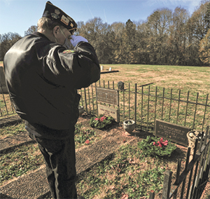"Shelby American Legion members participate in ""Wreaths Across America"""