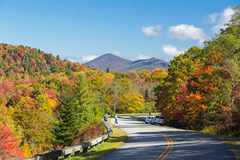 Expect spectacular fall foliage this year in North Carolina