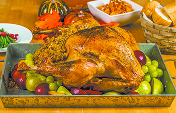 Five tips for a food safe Thanksgiving