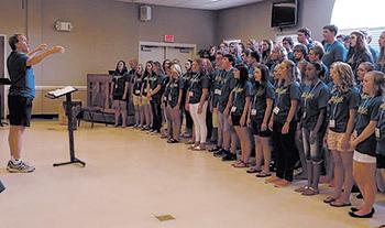 NC Allstate Chorus performs...