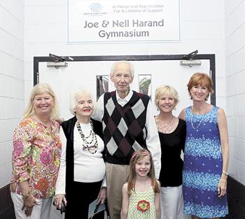 Joe & Nell Harand Gymnasium dedicated