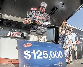 Bryan Thrift wins FLW Tour