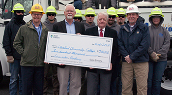 CCC receives grant from Duke Energy and Piedmont Natural Gas
