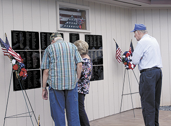 Casar remembers Veterans on 4th...
