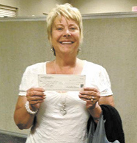 Connie Lord is big winner!