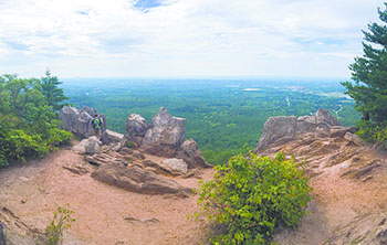 Hiking Crowders Mountain State Park is an exciting outdoor experience