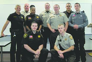 Nine pass state's detention officer certification exam