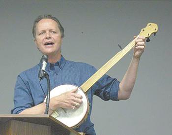 Billy Stevens at Earl Scruggs Center