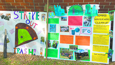 Students participate in Earth Day projects