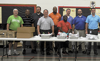 A BIG thank you to all the staff of EATON Corp. from North Shelby School students and Staff!!!