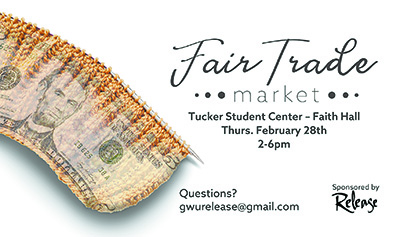 Fair Trade Market planned at GWU