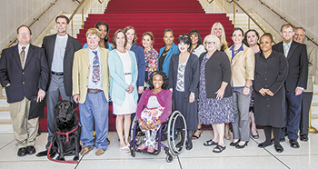 GWU Alum pursues advocacy for the disabled