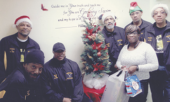 Golden Bulls Club helps community through the 2015 Christmas for Kids Toy Drive