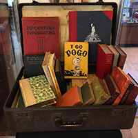 Book Exhibit now open at the Museum!