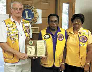 Lawndale Lion receives honor