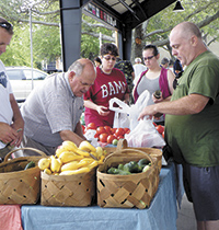 A day in the life of the Foothills Farmers' Market...