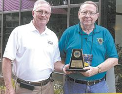 Lincolnton Lion Receives William Joyce Award