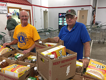 LIONS CLUB, Serving the People of Cleveland County