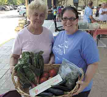 Visit the Farmer FoodShare Donation Station Uptown Shelby Saturdays!